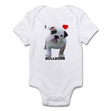 BULLDOG SMILES Infant Bodysuit