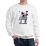 BULLDOG SMILES Sweatshirt