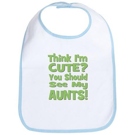Think I'm Cute? AuntS! (PLURA Bib