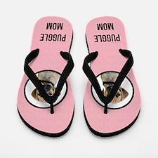 Puggle Mom Flip Flops