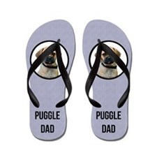 Puggle Dad Flip Flops
