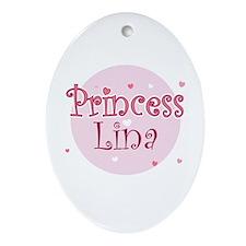 Lina Oval Ornament