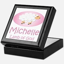 Lamb of God - Michelle Keepsake Box