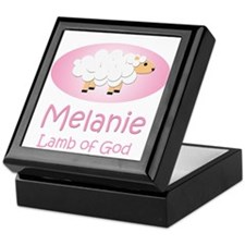 Lamb of God - Melanie Keepsake Box
