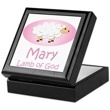 Lamb of God - Mary Keepsake Box