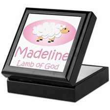 Lamb of God - Madeline Keepsake Box