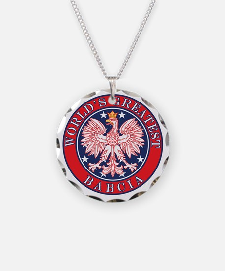 World's Greatest Babcia Necklace