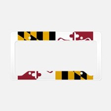 Lacrosse Laxyland License Plate Holder