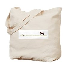Solid Liver GSP on Chukar Tote Bag