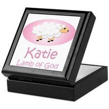 Lamb of God - Katie Keepsake Box