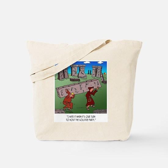 Solstice Cartoon 9494 Tote Bag