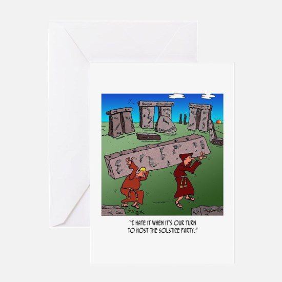 Solstice Cartoon 9494 Greeting Card