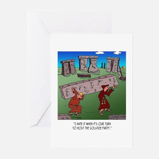 Solstice Cartoon 9494 Greeting Cards (Pk of 20)