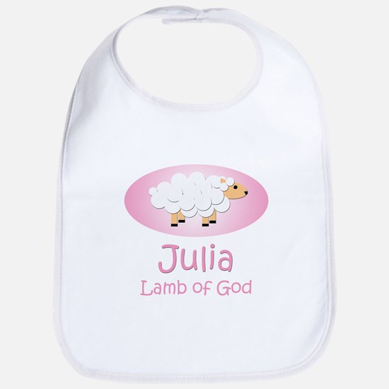 Lamb of God - Julia Bib