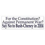 Pro-Constitution, Anti-War, Anti-Bush/Ch