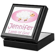 Lamb of God - Jennifer Keepsake Box