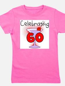 CELEBRATINGBDAY60.png Girl's Tee