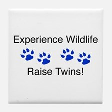 Experience Wildlife Raise Twi Tile Coaster