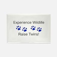 Experience Wildlife Raise Twi Rectangle Magnet