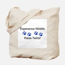 Experience Wildlife Raise Twi Tote Bag
