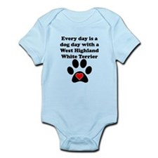 West Highland White Terrier Dog Day Body Suit