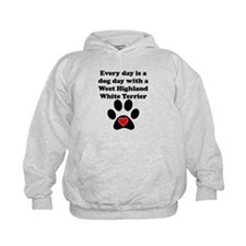 West Highland White Terrier Dog Day Hoody