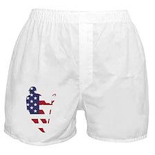 Lacrosse IRollMericaHorz Boxer Shorts