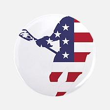 "Lacrosse IRockMericaHorz 3.5"" Button"