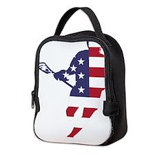 Lacrosse IRockMericaHorz Neoprene Lunch Bag