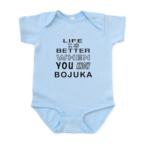 Bojuka Martial Arts Designs Infant Bodysuit
