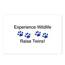 Experience Wildlife Raise Twi Postcards (Package o