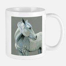 Gray horse Mug