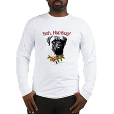 Bullmastiff Bah Humbug Long Sleeve T-Shirt