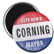 Re-Elect Mayor Corning Magnet