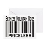 Bernese Mountain Dog -- New Items Greeting Cards (