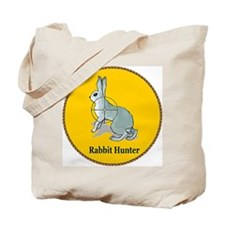 Rabbit Hunter Tote Bag