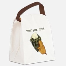 write your novel Canvas Lunch Bag