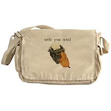 write your novel Messenger Bag