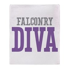 Falconry DIVA Throw Blanket