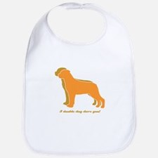 Rottweiler Double Dog Bib