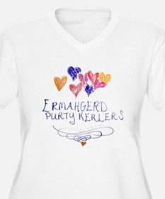 Purty Kerlers Plus Size T-Shirt