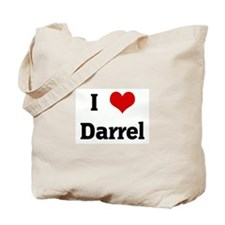 I Love Darrel Tote Bag