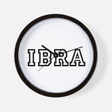 IBRA Wall Clock