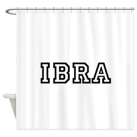 IBRA Shower Curtain