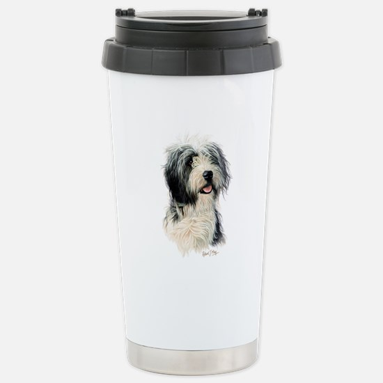 Bearded Collie Stainless Steel Travel Mug