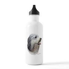 Bearded Collie Water Bottle