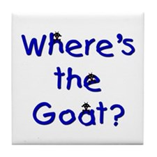 Where's the Goat Tile Coaster