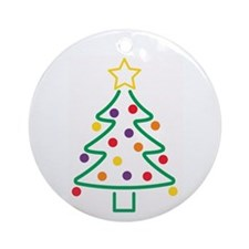 Cookie Cutter Xmas Ornament (Round)