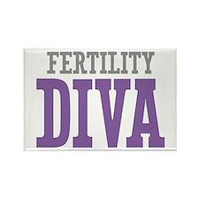 Fertility DIVA Rectangle Magnet