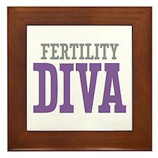 Fertility DIVA Framed Tile